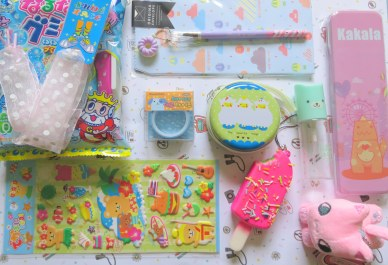 Happy Fri-Yay! August Kawaii Box delivery