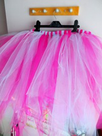 Meters and meters of tulle